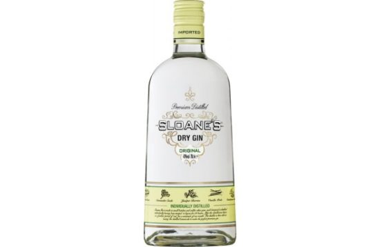 sloanes dry gin 1