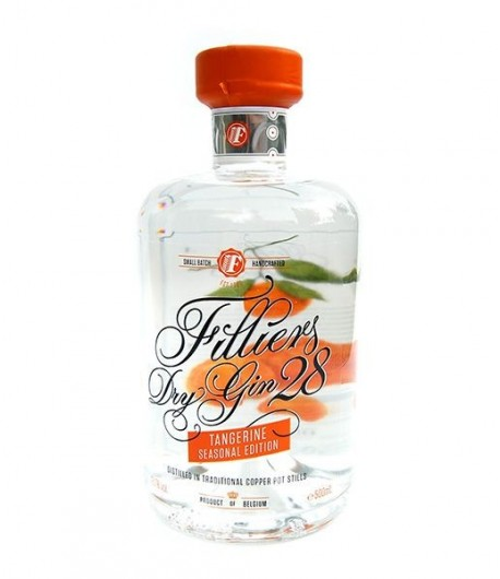 filliers-tangerine dry gin