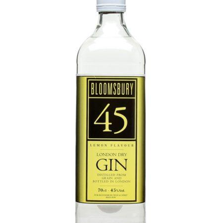 bloomsbury gin