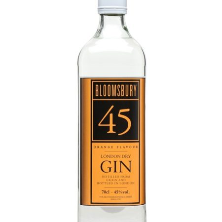 bloomsbury orange gin