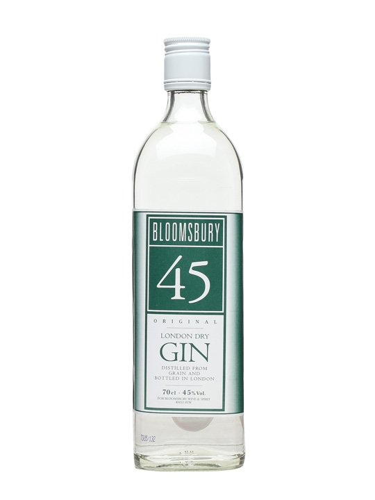 bloomsbury original gin