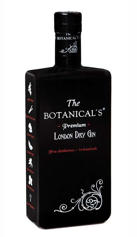 the botanicals london dry gin