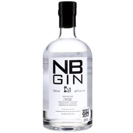NB gin london dry gin