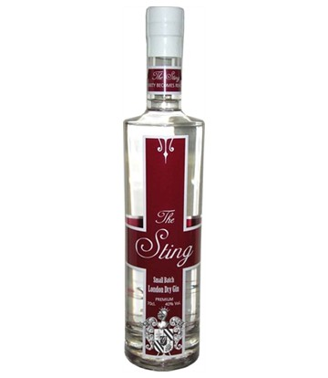 the sting london dry gin