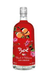 Boë Peach and Hibiscus Liquer Gin