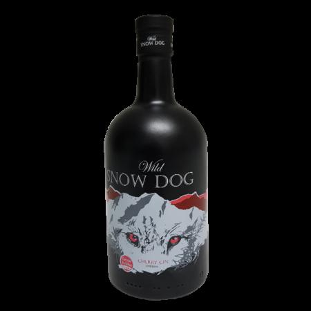 wild snow dog cherry gin