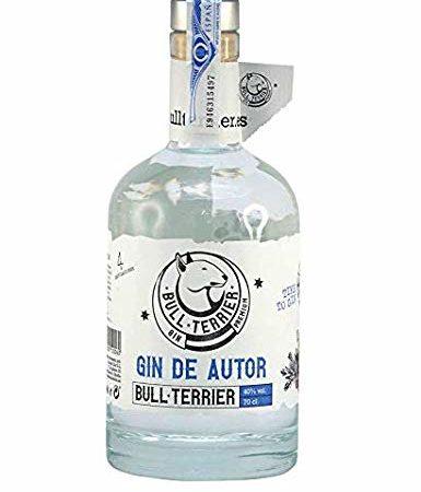 bull terrier gin de autor
