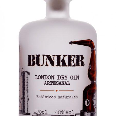 bunker london dry gin ( artesanal )