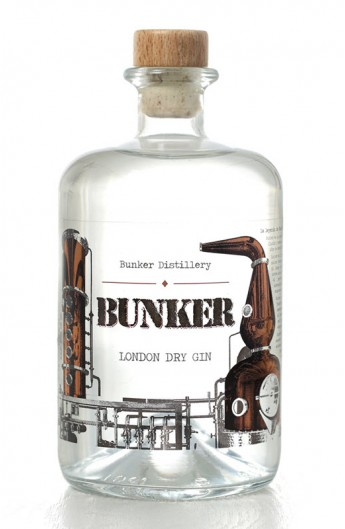 bunker origen london dry gin