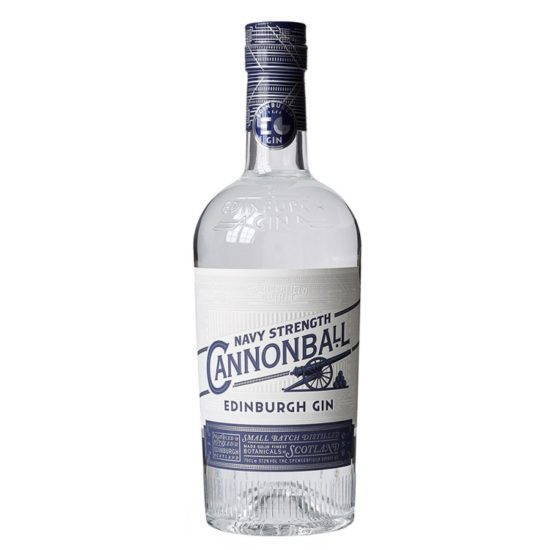 edinburgh cannonball navy strength gin