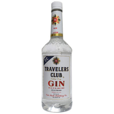 Travelers Club-Extra Dry Gin