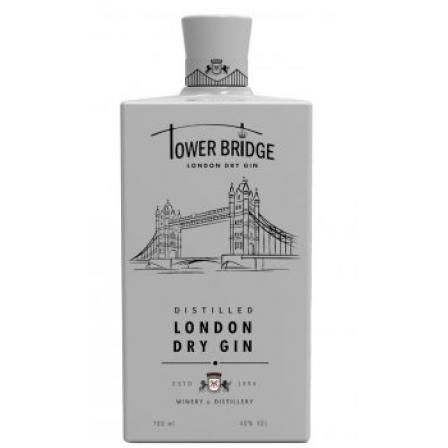 Tower Bridge London Dry Gin ( White )