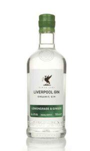 Liverpool Lemongrass And Ginger Gin